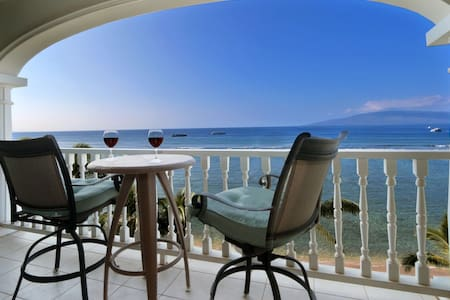 Oceanfront 6th Floor Unit with Panoramic Views - 拉海纳 - 公寓