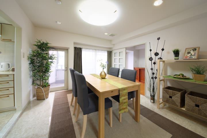 Close to the Asakusa & Ueno 7pax!!! - Arakawa-ku - Appartement