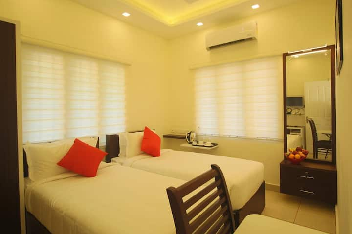 Cochin Accommodation for Corporate & Family guests