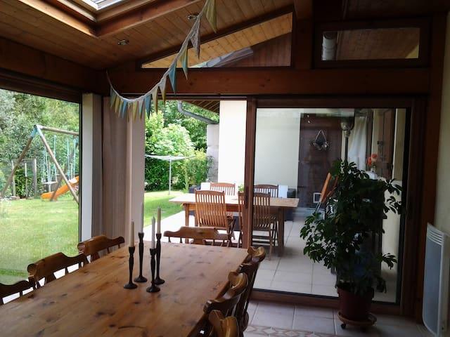 Chambre dans maison individuelle au calme - Mieussy - Hus