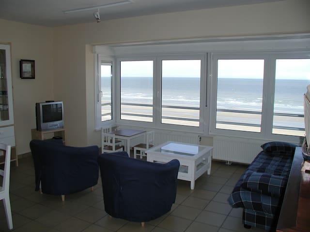 Sympathique appartement 6 pers. avec vue sur mer. - Brussels - Apartment