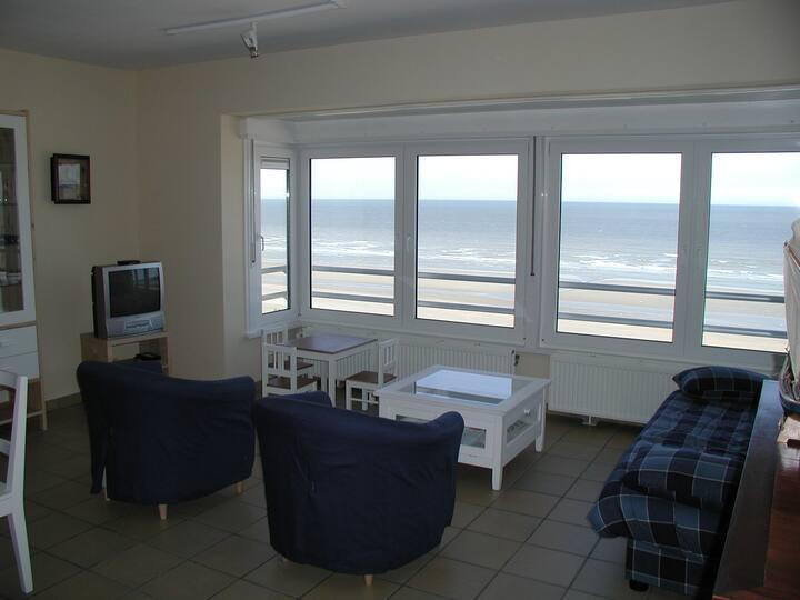 Sympathique appartement 6 pers. avec vue sur mer