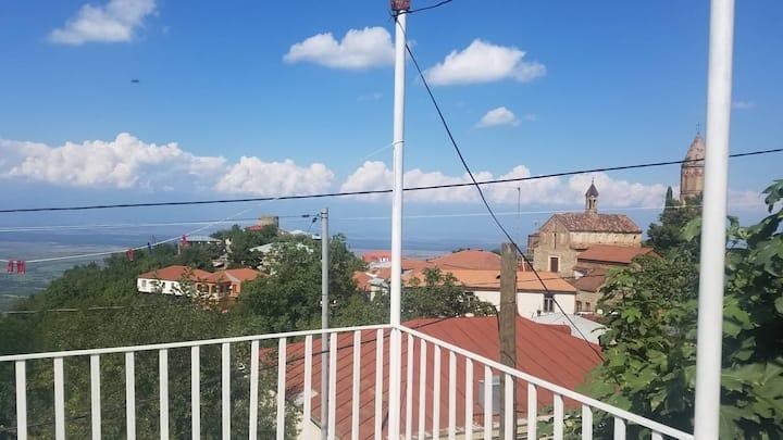 Veranda House: Private room unique Caucasus views