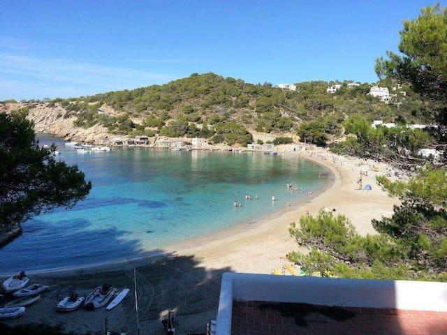 IBIZA,CALA VADELLA appartamento inVILLAconPISCINA - Sant Josep de sa Talaia - Vila
