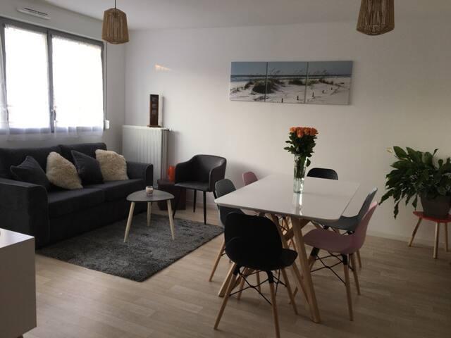 Appartement 5 personnes à proximité de la plage