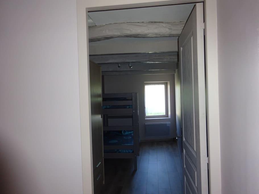 Chambre 2 - lits superposés