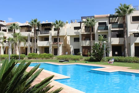 Luxury modern 2 bed apartment in gated complex - San Javier