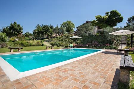 Umbria holiday on the enchanting hills of Todi! - Massa Martana - Casa