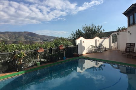 Lovely Cortigo, mountain views but close to beach - Castell de Ferro - Casa de camp
