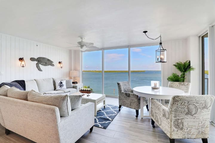 EXQUISITE, Newly Remodeled & Listed! Gorgeous 5th Floor Bay View, No Resort Fee, Free Parking & WiFi