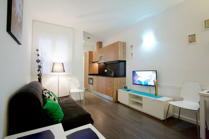 Cute 1-bedroom apartment in Poblenou
