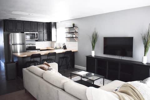 Swisher-suite i nærheden af UNT/Denton