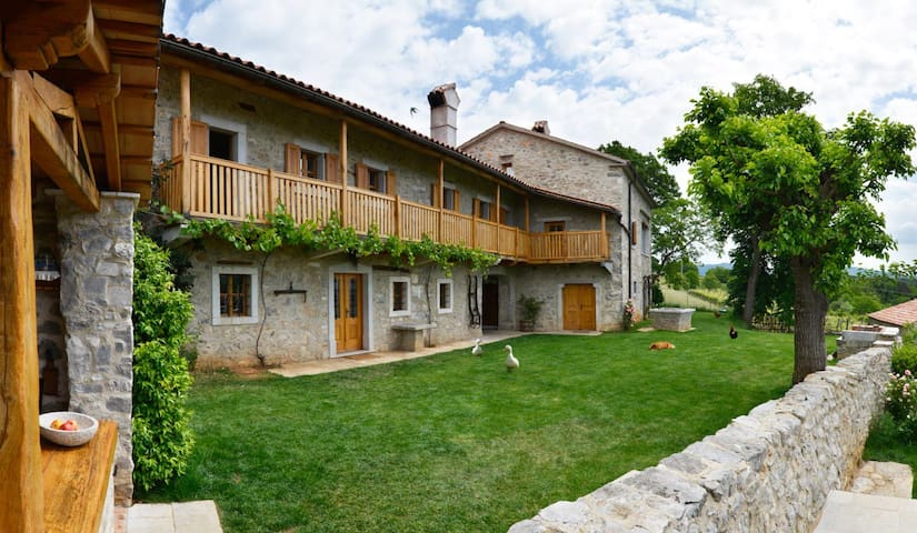 ASA residence thelux 2 with balkon for 4-5 person - Sežana - Leilighet