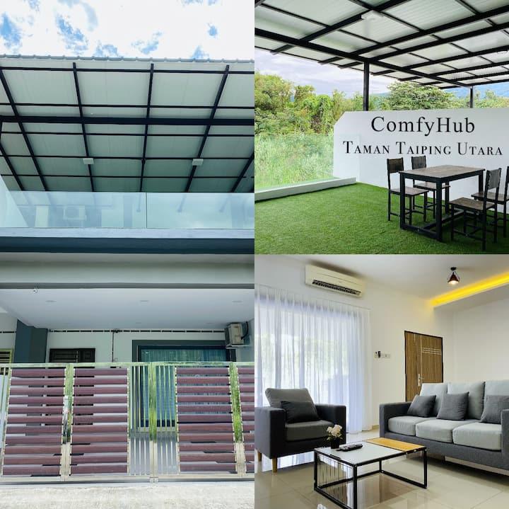 Comfy Hub @ Taman Taiping Utara [9-12pax]