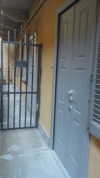 Porta ingresso appartamento