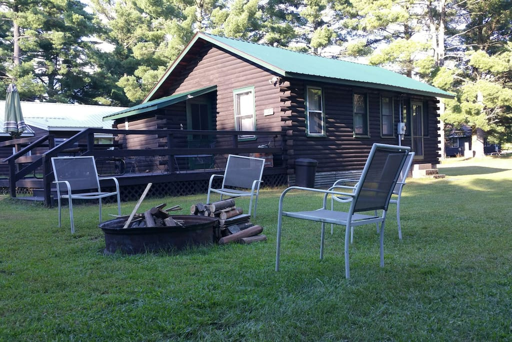 Up North Making Memories In Hatfield Wi Cabins For Rent