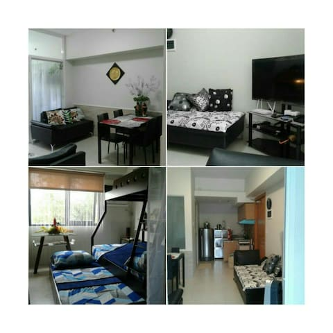 1BR CondoHome Fx Rate 4-5 pax  Ntflx , POOL/ GYM