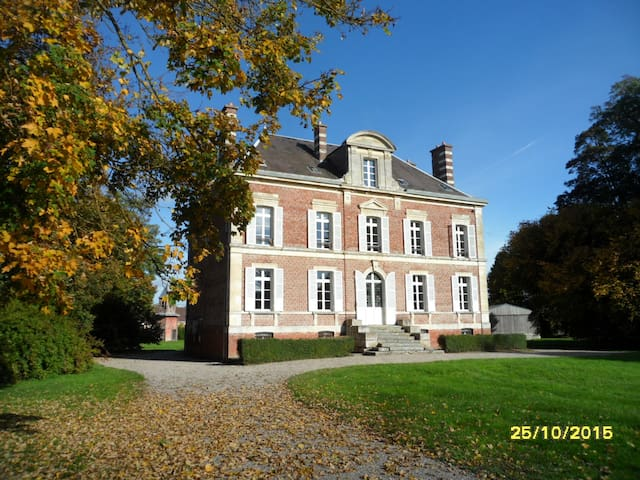 Family manor house  19th century - Fleury - Huis