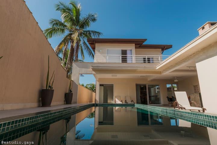 Casa Praia Guaratuba - Costa do Sol - 50 m do mar