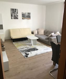 Ruhige, helle Wohnung, 55qm, Zentrum, Donau Radweg