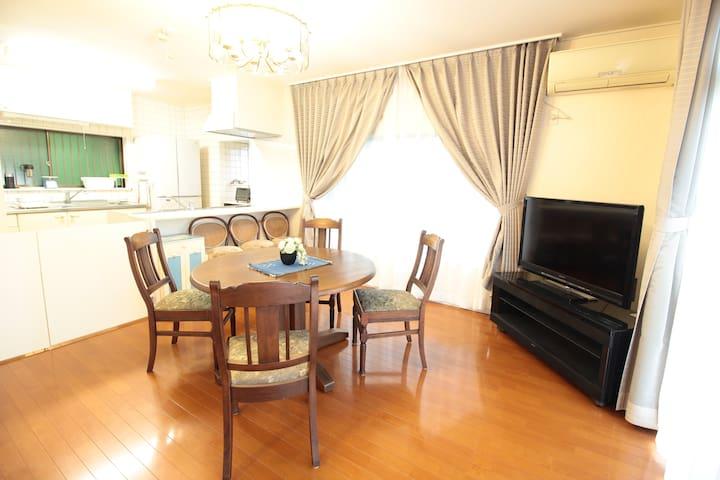 House w/a terrace&BBQ inYugawara!max8+wifi&TV!#YG1
