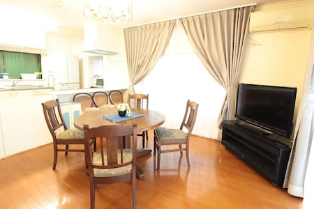 House w/a terrace&BBQ inYugawara!max5+wifi&TV!#YG1