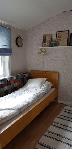 Bedroom upstair, one single bed