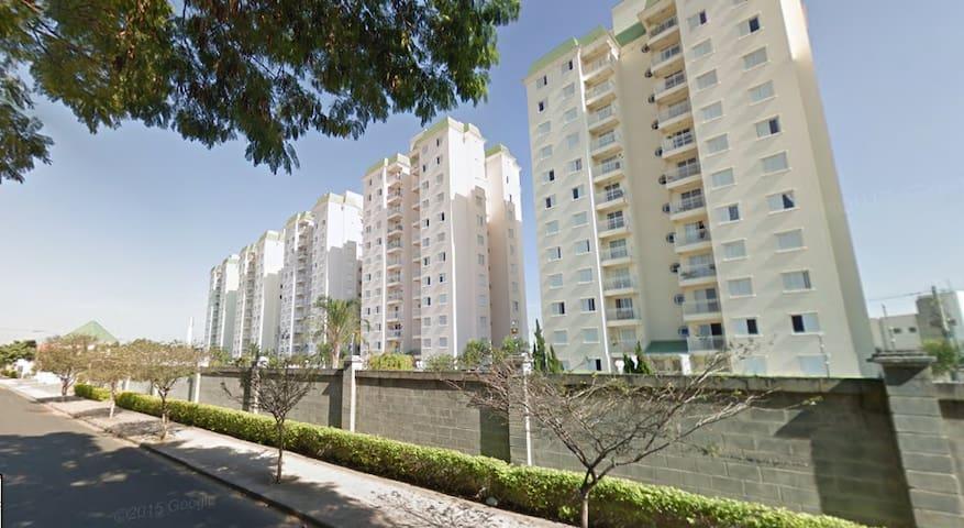 Ap. próx. Shop. Pólo Indaiatuba/Itu/Campinas/VCP - Indaiatuba - Lägenhet