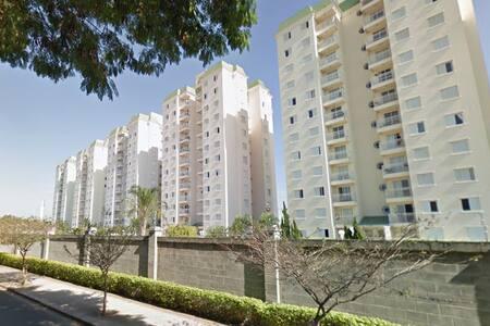 Apt. novo, próx. ao Shop. Pólo/ Itu/ Campinas/ VCP - Apartament