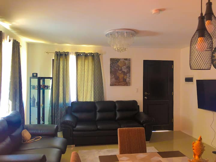 furnished house for rent at montierra subdivision