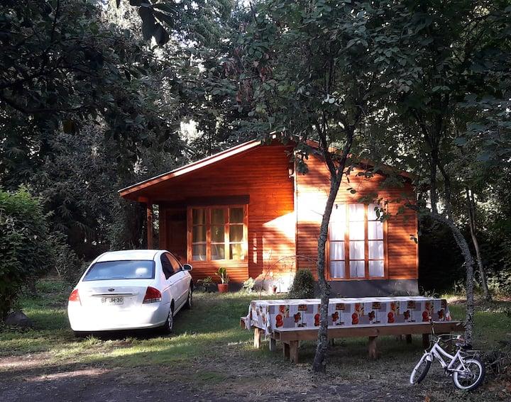 Cabaña  Villarrica Pucón, parque natural .