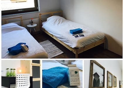 Comfortable twin room in hospitable BnB in Meppel - Meppel - Ház