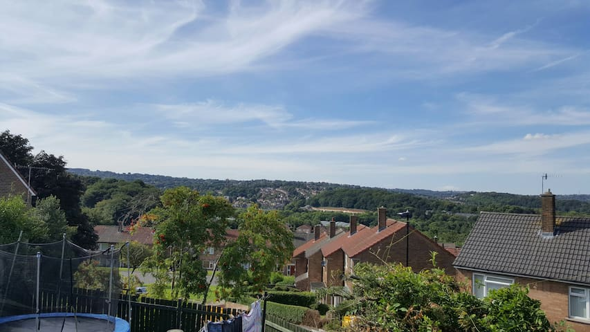 Balcony room with a view, kitchenette, shower room - Sheffield - Wohnung