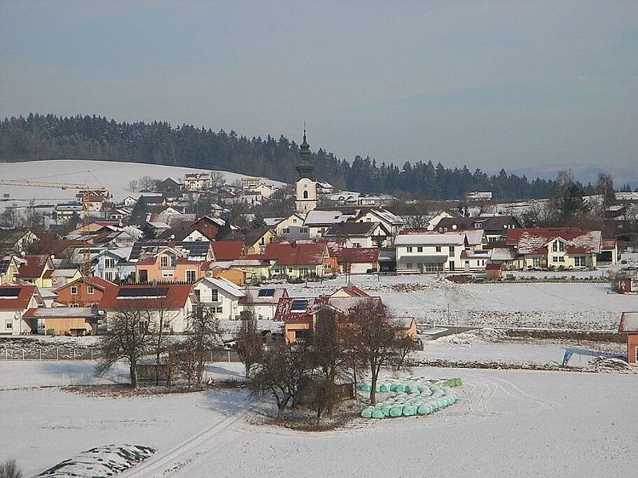 Neukirchen v. W. im Winter