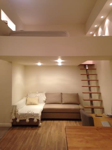 Cosmopolitan Studio Apartment - Edinburgh - Flat