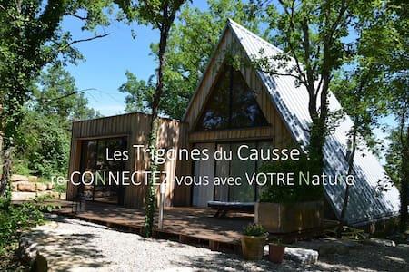 Maison bois & piscine chauffée -St Cirq Lapopie