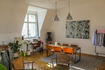Design Loft above Vienna's skyline