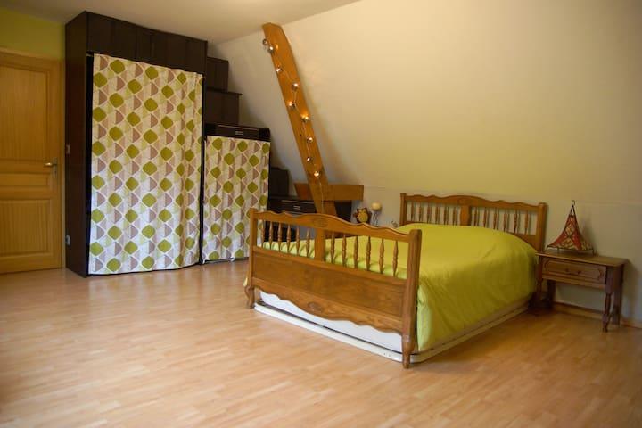 Chambre dans maison calme,Str à 10' - Dingsheim - House