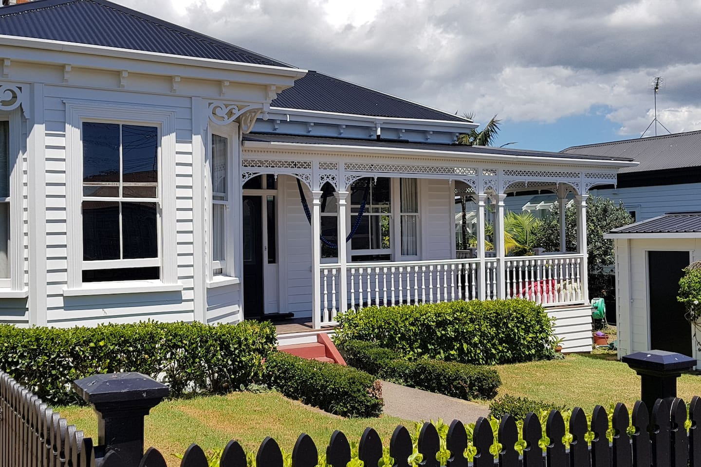 Beautifully restored 1900s villa in the heart of Ponsonby, Auckland.