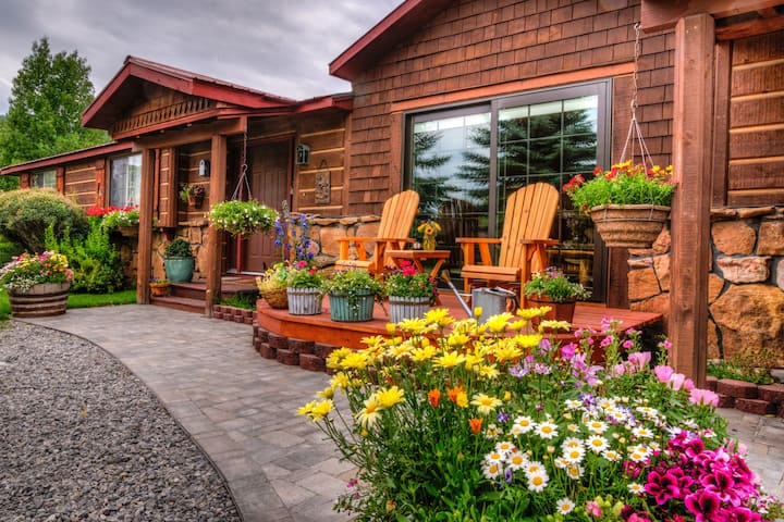 Teton View B&B ~ Jackson Hole ~ A Grand View Room