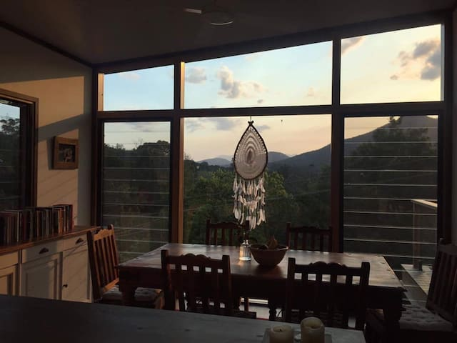 Brand new eco-home with views of Mount Warning