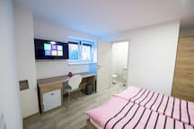 Newly decorated twin room in Preddvor