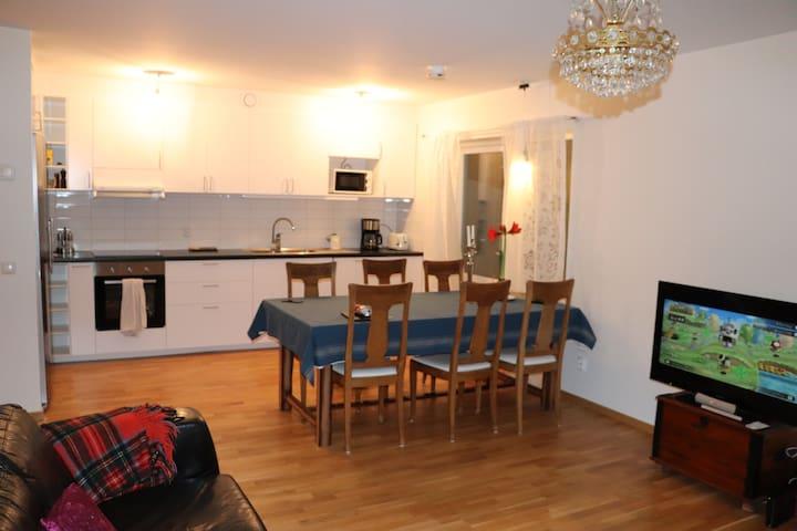 Ljus och fräsch lägenhet i Lund