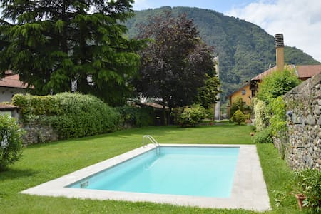 The Chalet with pool on Lago Maggiore - Pallanza