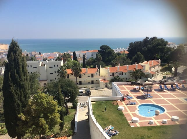 T0 Albufeira with Beautiful Sea & Pool Views