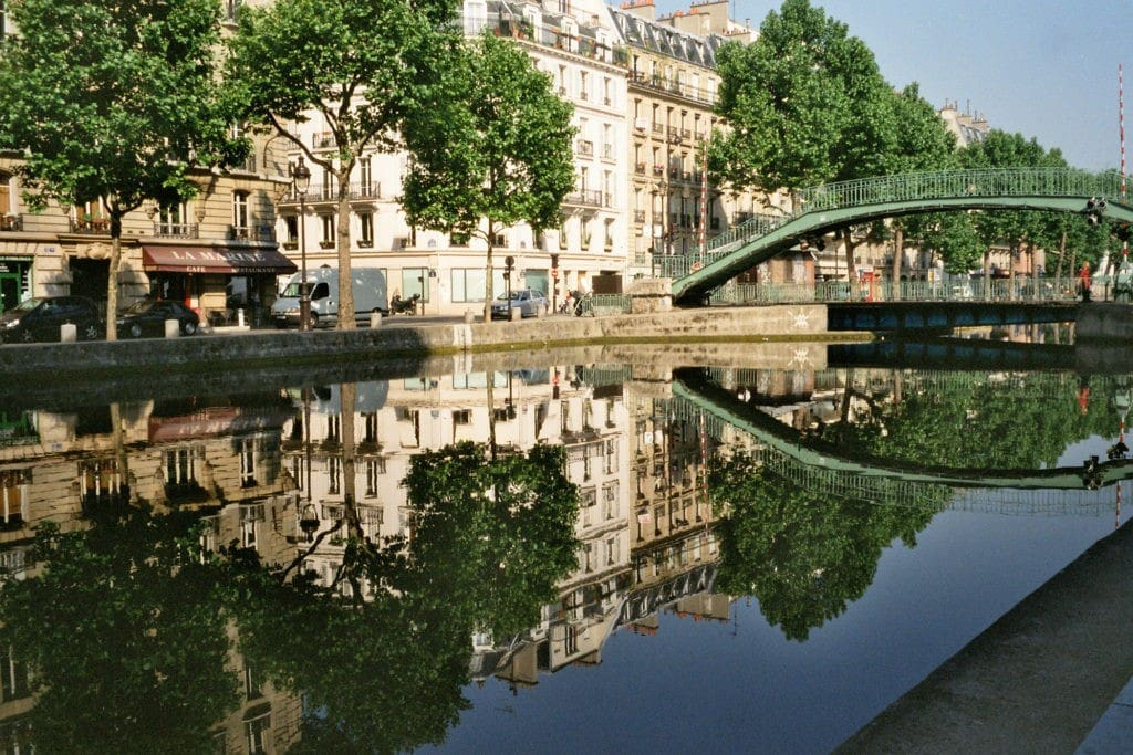 Quartier du canal saint martin