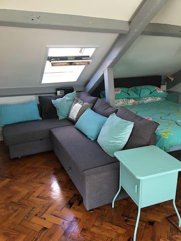 UNIQUE ROOM IN URBAN LOFT SEA VIEWS - Southampton - Huoneisto