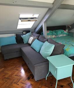 UNIQUE ROOM IN URBAN LOFT SEA VIEWS - Southampton