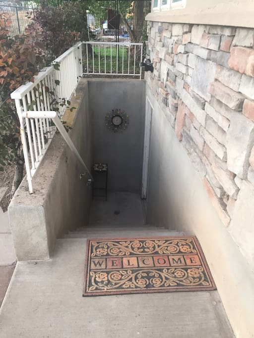 This is the side entrance into the apartment.
