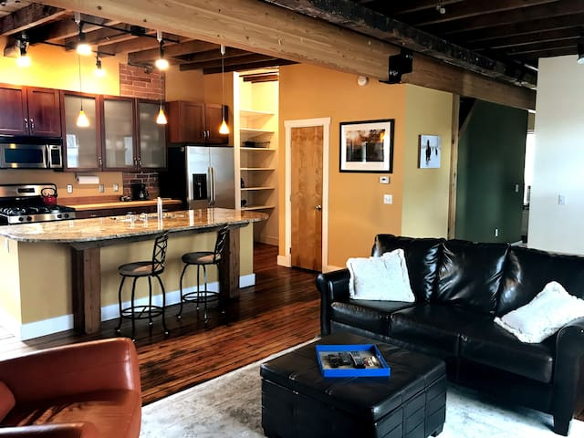 Carriage House Loft,  History in central LoHi
